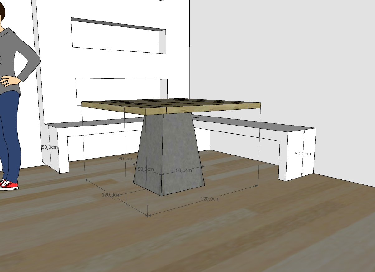 Tavolo Con Gamba Centrale tavolo con gamba centrale in ferro - redolab